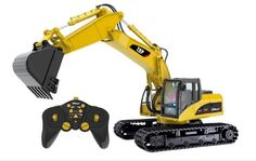 Excavator Remote Control Car For Boys Toys RC Construction Digger Vehicle Truck #TopRace