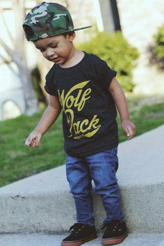Image of Wolf Pack tee