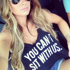 You can't sit with #JessieJames