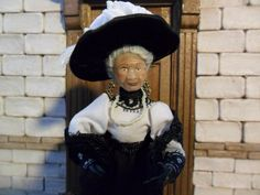Doll 1 12 Ooak , characters people dollhouse by Dollsminiature.com