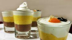 Triple Layered Mousse - Dark Chocolate, Mango, White Chocolate | Quick, ...
