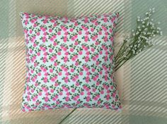 Shop for cushions on Etsy, the place to express your creativity through the buying and selling of handmade and vintage goods. Floral Cushions, Sally, Throw Pillows, Sewing, Handmade, Toss Pillows, Dressmaking, Hand Made, Couture