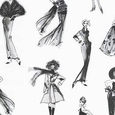 Items similar to City Chic in Black and White by Anne Tavoletti for Robert Kaufman by the Yard on Etsy Robert Kaufman, Tall Women, City Chic, Etsy Store, Love Fashion, Printing On Fabric, Black And White, Trending Outfits, Runway