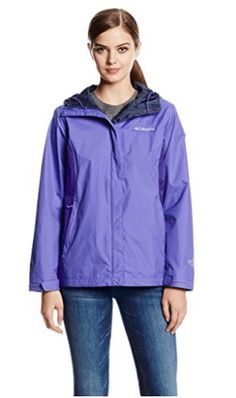 Columbia Women's Arcadia II Jacket, Sea Ice, Large Omni-tech waterproof/breathable fully seam sealed Attached, adjustable storm hood Zippered hand pockets Draw cord adjustable hem Packable into hand pocket Best Waterproof Jacket, Waterproof Breathable Jacket, Raincoats For Women, Jackets For Women, North Face Rain Jacket, Columbia Sportswear, Columbia Jacket, Outdoor Outfit, Vest Jacket