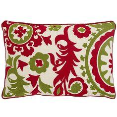 Suzani Oblong Pillow