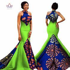 2017 African Women Long Dresses Dew Shoulders Women Formal Elegant Dresses Print Wax Party Gowns Plus Size Dress Female African Dresses For Women, African Attire, African Women, African Fashion Designers, African Men Fashion, Africa Fashion, Ankara Gowns, Ankara Dress, Dashiki Dress