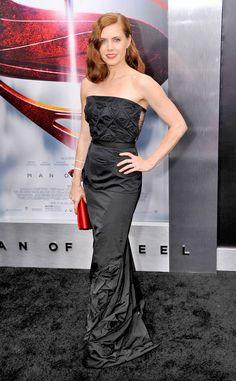 Amy Adams in Nina Ricci - 'Man of Steel' NYC Premiere