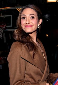 Emmy Rossum - Emmy Rossum Smiles as She Leaves 'Today' 2