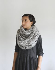The Pembroke Cowl in Toasted Marshmallow by Yokoo on Etsy, $84.00