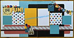 Here's our July club kit using the    Workshops Your Way - Magical Scrapbooking Kit.    I'll send you the cutting guide when you pu...