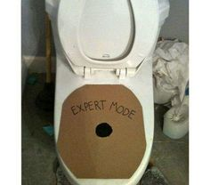 good way to teach boys to aim. no  more pee on the floor make it a game lol
