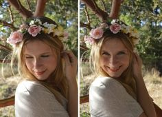 5 Ways To Style Flower Crowns | www.theglitterguide.com