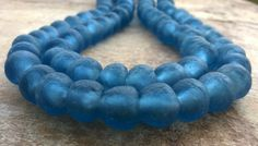 African Recycled Glass Beads14 mmAfrican Glass by RedEarthBeads