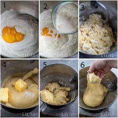 Sweet Bread Recipe (Basic Sweet Yeast Dough) - Let the Baking Begin! Sweet Yeast Bread Recipe, Bread Dough Recipe, Yeast Bread Recipes, Pastry Recipes, Biscuit Recipe, Basic Sweet Dough Recipe, Cinnamon Recipes, Cinnamon Rolls, Cooking Bread