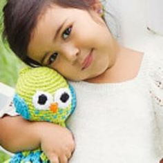 Owl Security Blanket from Doll Baby accessories- http://www.etsy.com/listing/152985179/thats-a-hoot-crochet-security-lovey?ref=shop_home_active