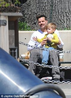 Ricky Martin and babies
