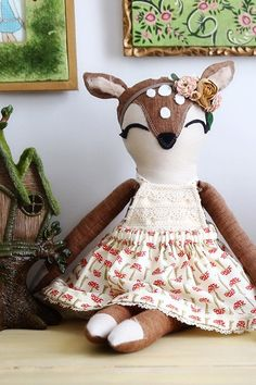 Animal Doll Patterns - 5 Pack (Includes Katie Cat)