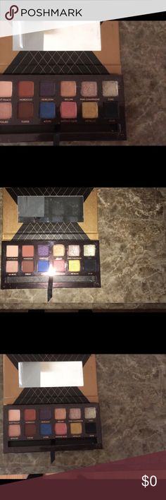 Not for sale. How to see what the real one is This is the real world traveler palette by ABH don't be fooled by fakes. Makeup