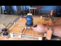 ▶ Homemade (Router Jig) - Etch A Sketch Style! - YouTube