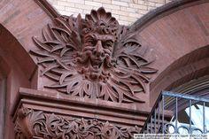 376-380 Lafayette Street between Great Jones Street (3rd Street) & 4th Street (NYC). Built in 1888-1889 by William C. Schermerhorn.