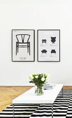 Via Valkoinen | Pk Copenhagen Posters | Ikea Stockholm Rug