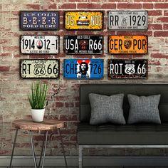 license plate decoration ideas - Buscar con Google | Ideas casa ...
