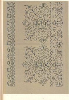 (5) Gallery.ru / Фото #25 - Slovenska ludova vysivka - Helena10 Border Embroidery Designs, Hand Embroidery Patterns, Learn Embroidery, Cross Stitch Embroidery, Machine Embroidery, Hungarian Embroidery, Vintage Embroidery, Motif Floral, Embroidery Techniques