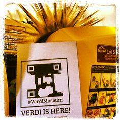 When opposites meet: #foundVerdi and #punksnotdead on the flight to #Berlin. Thanks to @pieropoliti