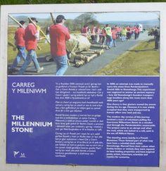 'Millenium Stone' description, at National Botanic Gardens of Wales.