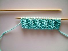 Knit the Mistake Rib Pattern, from wikiHow.com!