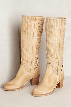 Zeeburg Lasercut Boots #anthropologie Summer Boots, Shoe Boots, Shoes, Clothes For Sale, Leather Heels, Pretty Outfits, Autumn Winter Fashion, Cowboy Boots, Anthropologie