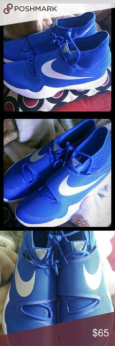 Nike Zoom HyperRev 2016 Basketball Sneakers, SZ 18 Nike Zoom Hyperrev 2016 Shoe Sneakers,  Men's size 18 in Game Royal/White 835439-401.   BRAND NEW, 100% Authentic - without box..  Actual item is pictured. Nike Shoes Sneakers
