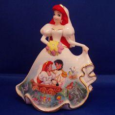 Disney The Little Mermaid Airles Wish Bradford Exchange Bell Figurine | eBay