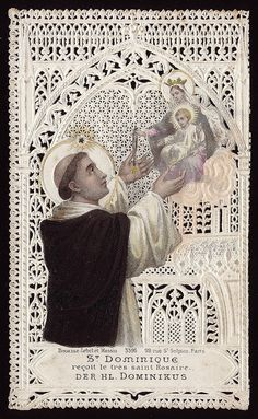 St Dominic, is the patron saint of astronomers, and founder of the Dominican Order