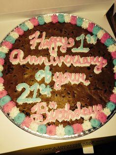 22nd Birthday Cookie!