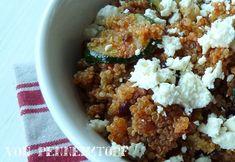 Penne im Topf: Reishunger !! Quinoa mit Zucchini und Fetakäse