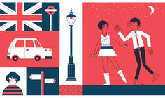 An Illustrated Guide to London - Lydia Nichols