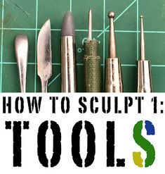 Faeit 212: Warhammer 40k News and Rumors: How to Sculpt 1: Tools of the Trade by Mr. Pink