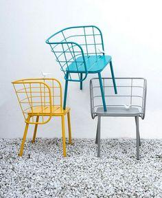 4P1B Design Studio Jujube chair collection