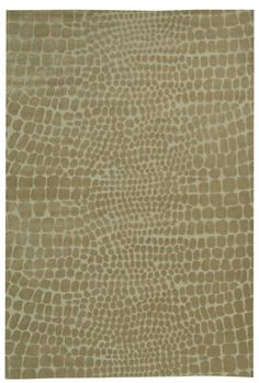 Martha Stewart's Amazonia Raft Beige rugs combine the graphic pattern of reptile skins with the geometric dot motif of the Amazon in a soft and abstract rug for Safavieh transitional rugs. The Amazonia Raft Beige rug is crafted in Tibet from hand-knotted silk and wool in a cut-and-loop pile to make a sophisticated piece for any contemporary home. Martha Stewart is an iconic American designer,  http://www.cyrusrugs.com/safavieh-rugs-martha-stewart-item-13296&category_id=0