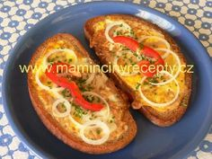 Slovak Recipes, Czech Recipes, Ethnic Recipes, Sweet Desserts, Bread Baking, Main Meals, Ham, Toast, Brunch