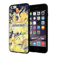 """NBA All Star Stephen Curry , Cool iPhone 6 Plus (6+ , 5.5"""") Smartphone Case Cover Collector iphone TPU Rubber Case Black SHUMMA http://www.amazon.com/dp/B00WTOMDCI/ref=cm_sw_r_pi_dp_Lfeqvb11DF0PP"""
