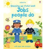 With over 150 big stickers, this sticker book offers little children the opportunity to dress boy and girl characters in the clothes and uniforms of various different jobs and professions. It features stickers for 15 costumes including a firefighter, astronaut, diver, scientist, hairdresser, artist, dancer, police officer, doctor, and a chef.