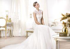 A Pronovias apresenta o vestido de noiva Leroig. Fashion 2014. | Pronovias