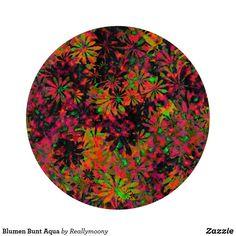 Blumen Bunt Aqua Schneidebrett Designs, Bunt, Aqua, Welcome Home, Decoupage Glass, Boards, Pictures, Water