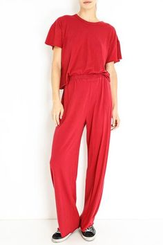 THE WIDE LEG PANT Wide Leg Pants, Jumpsuit, Legs, Collection, Dresses, Fashion, Wide Leg Trousers, Overalls, Monkeys