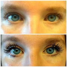 Younique's 3D Fiber Lashes - no falsies - no glue! It's quick and easy to apply, goes on just like mascara!