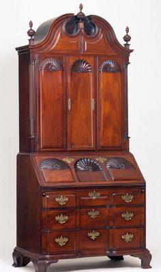 Newport, Rhode Island, New England, United States, North America     Date:1760-1785   Materials:Mahogany; Cedar, red; Maple, soft; Pine, white; Tulip poplar