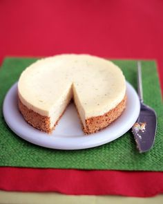 Margarita Cheesecake with sweet-and-salty pretzel crust from Martha Stewart