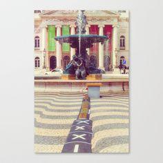Fontaine Stretched Canvas by Sébastien BOUVIER - $85.00 Decoration, Art Prints, Stretched Canvas, Painting, Mini, Decor, Art Impressions, Painting Art, Paintings